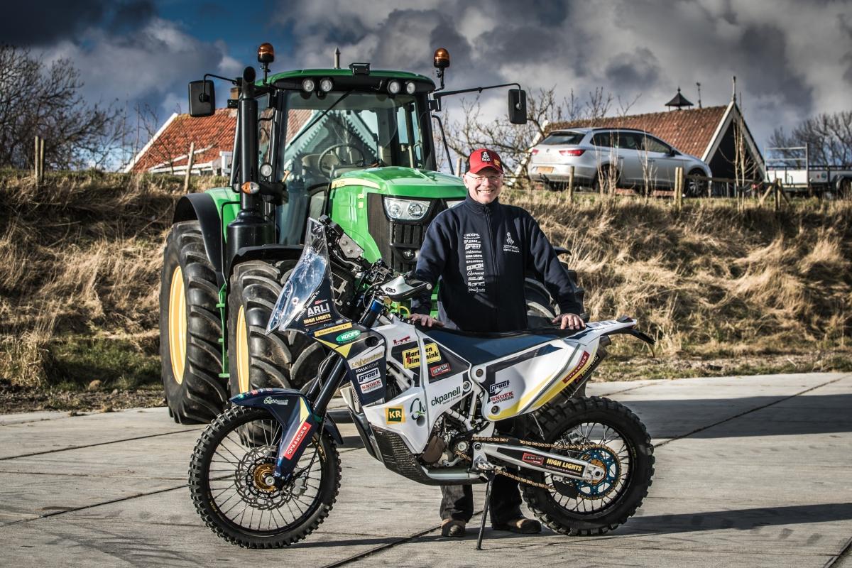 Jimmink smacht naar debuut in Dakar Rally2019