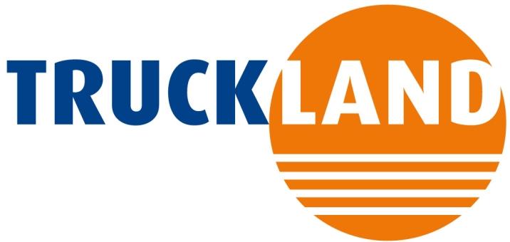 Truckland. LET OP! Het logo moet op een witte achtergrond staan!